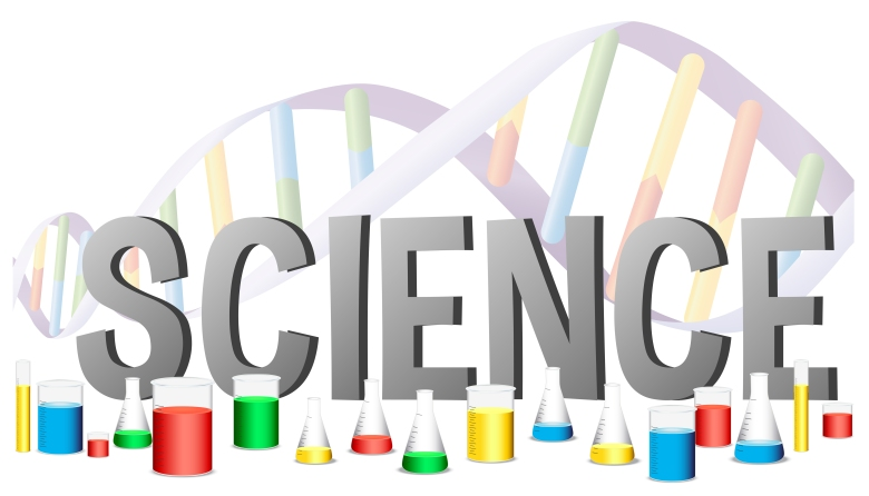 Word design for science with science equipments